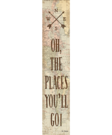 Travel The Map Oh the Places You'll Go Banner