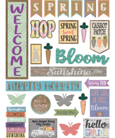 Spring Mini Bulletin Board
