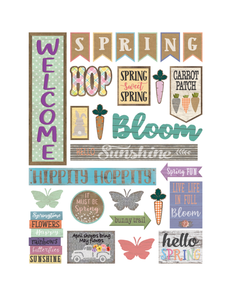 Home Sweet Classroom Spring Mini Bulletin Board