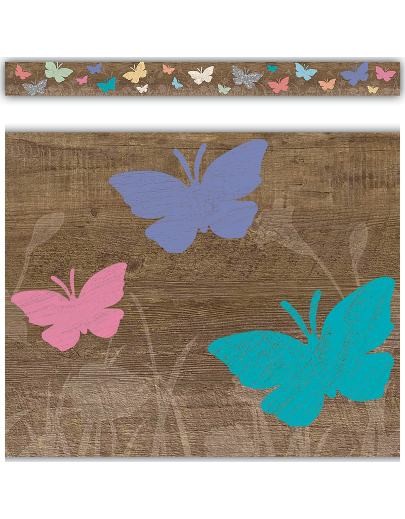 Home Sweet Classroom Spring Straight Border