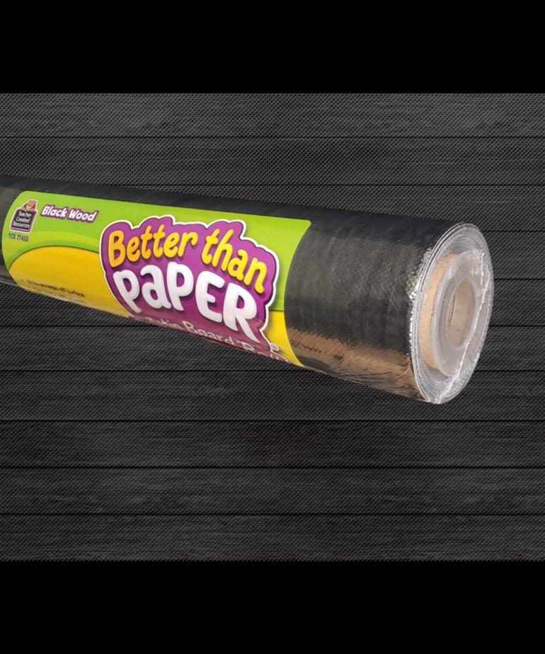 Better Than Paper- Black Wood