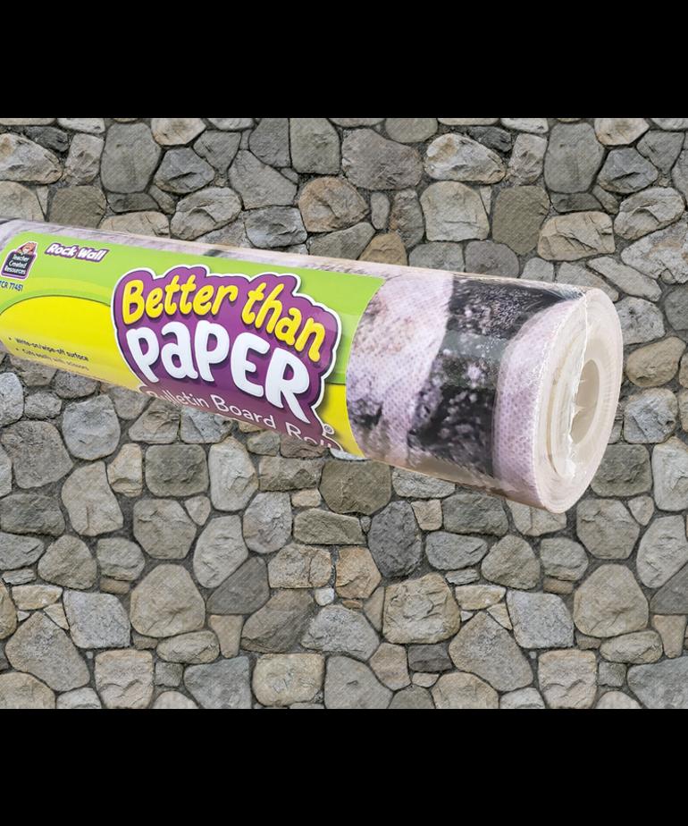 Better Than Paper- Rock Wall