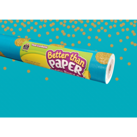 Better Than Paper- Teal Confetti