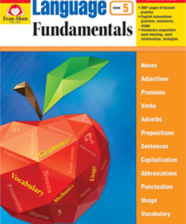 Evan-Moor Language Fundamentals Gr. 5