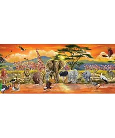 Melissa & Doug Safari Floor Puzzle 100 pc