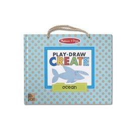 Melissa & Doug Play, Draw & Create - Ocean