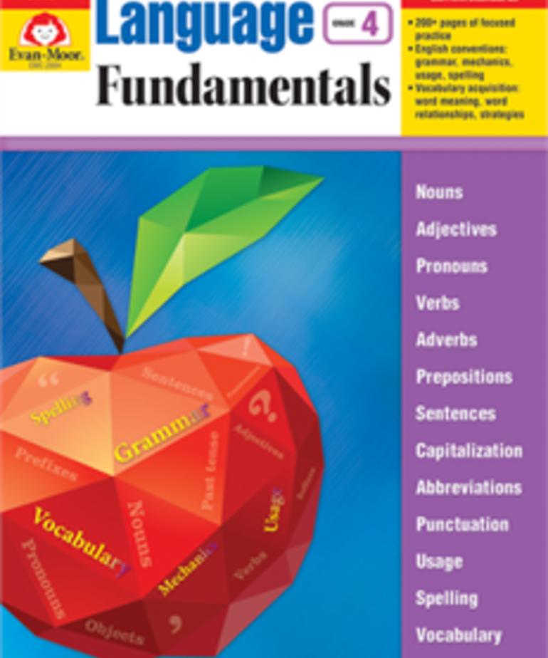 Evan-Moor Language Fundamentals Gr.4