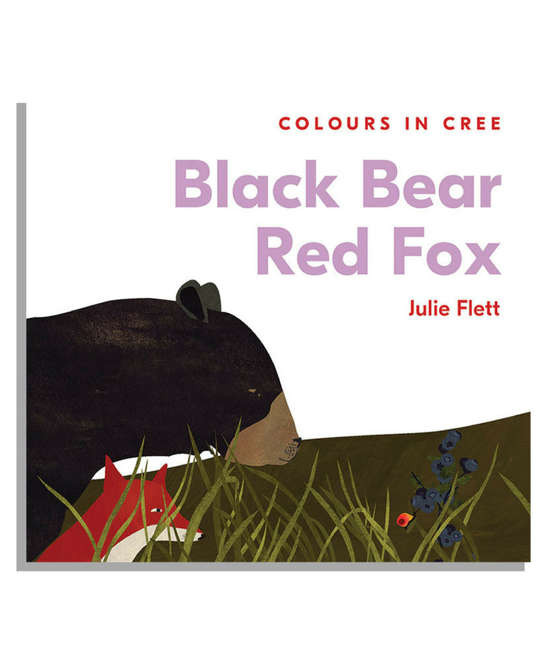 Black Bear Red Fox-Colours in Cree