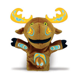 Mo the Moose Puppet