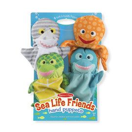 Melissa & Doug Sea Life Hand Puppets