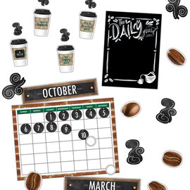 Industrial Cafe Calendar Bulletin Board Set
