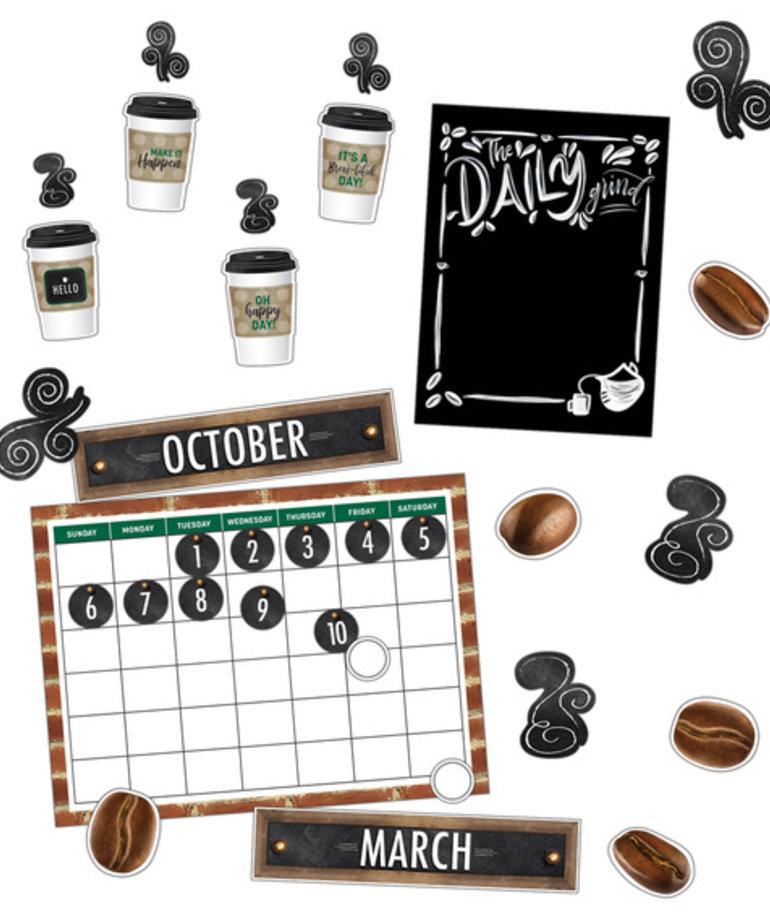 Industrial Cafe Calendar Bulletin Board Set