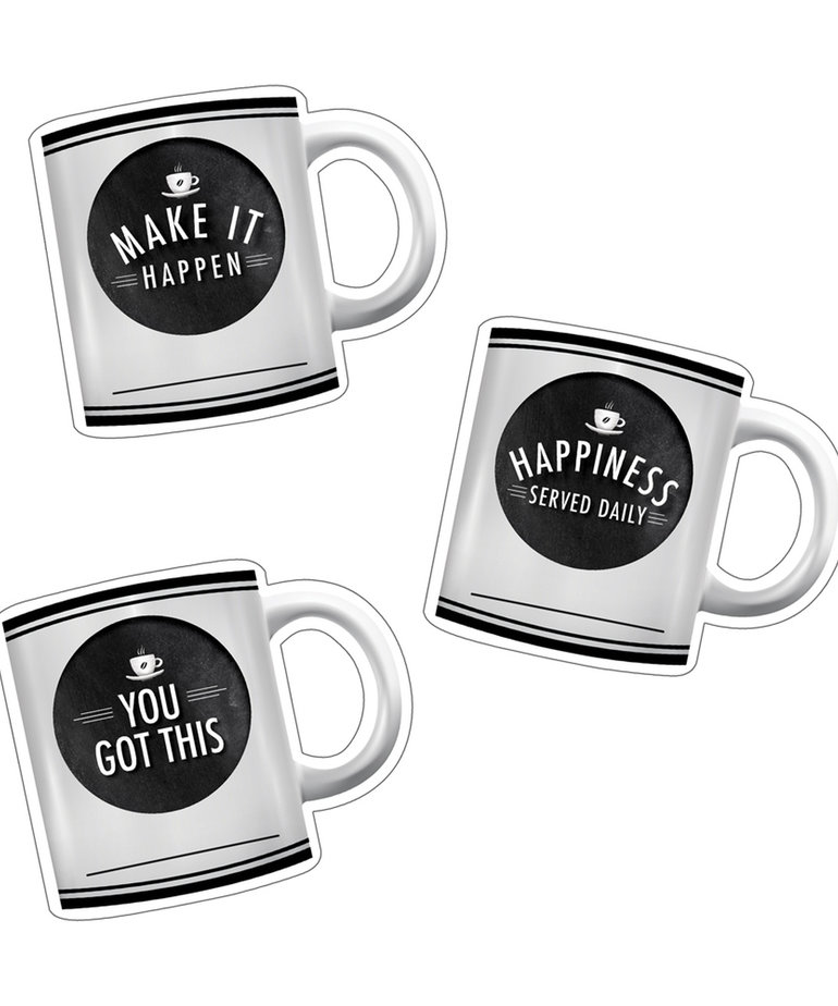 Industrial Cafe Motivational Coffee Mugs