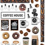 Industrial Cafe Espresso Yourself Mini Bulletin Board
