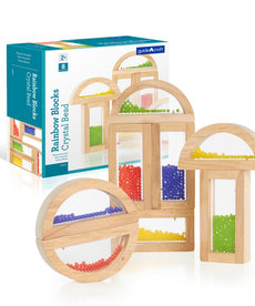 Rainbow Blocks-Crystal Bead