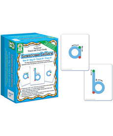 Lowercase Letters Textured Touch and Trace Cards