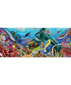 Melissa & Doug Underwater Oasis Floor Puzzle-200pc