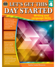 Let's Get This Day Started: Writing and Language Gr.4
