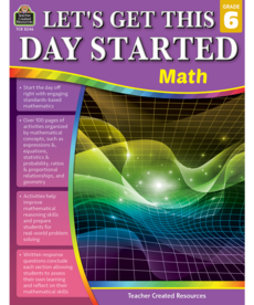 Let's Get This Day Started: Math Grade 6