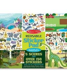 Reusable Sticker Pad- Habitats