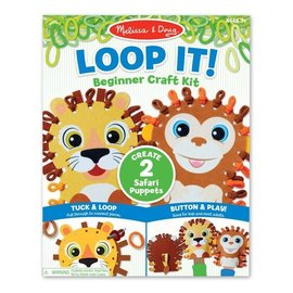 Loop It Beginner Craft Kit- Safari