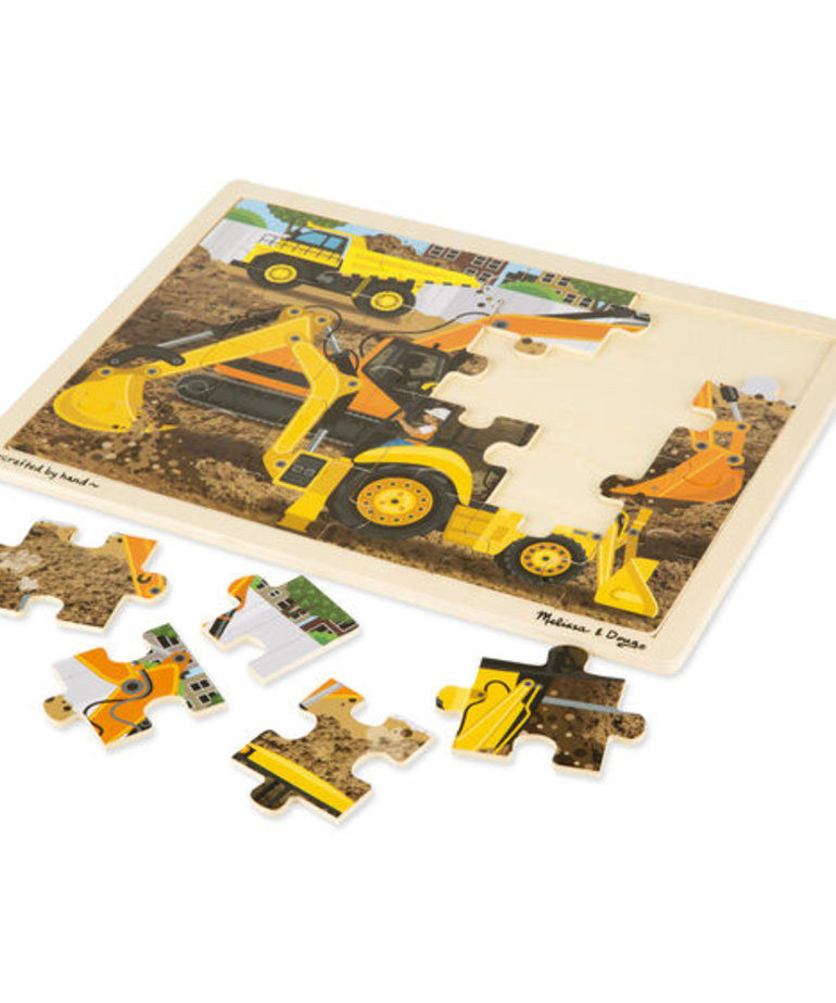 Diggers at Work 24 pc Wooden Puzzle