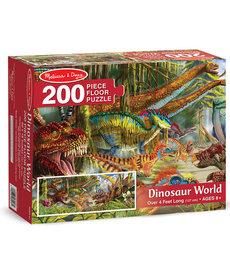 Melissa & Doug Dinosaur World Floor Puzzle