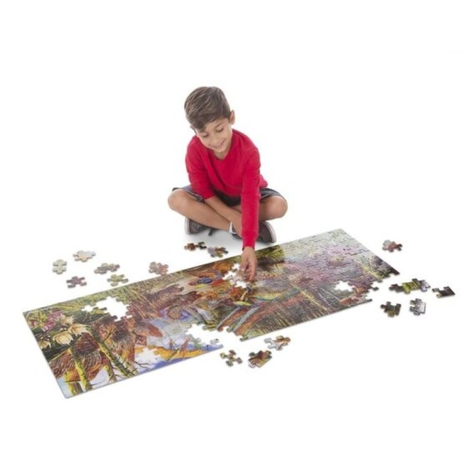 Melissa & Doug Dinosaur World Floor Puzzle