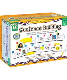 Sentence Building Open-Ended Learning Games