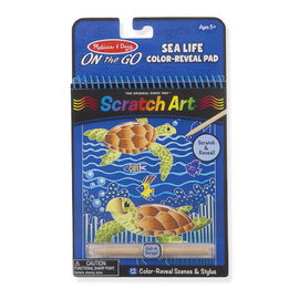 Sealife  Scratch Art Pad