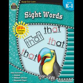 Ready-Set-Learn: Sight Words Gr K-1