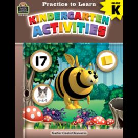 Practice to Learn: Kindergarten Activities