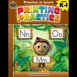 Practice to Learn: Printing Practice Gr.K-1