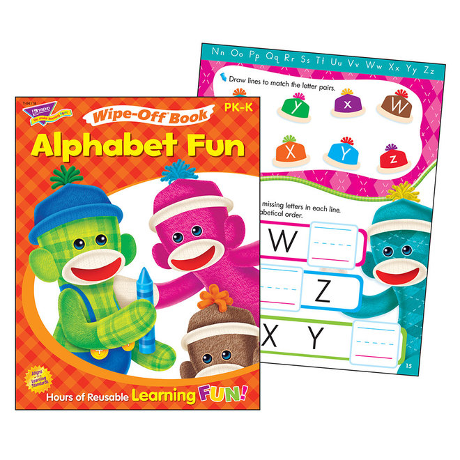 Alphabet Fun Sock Monkeys