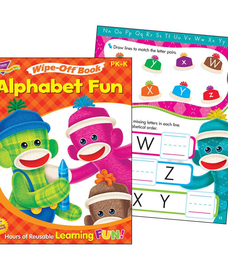 Alphabet Fun Sock Monkeys