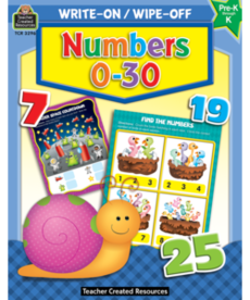 Numbers 1-30 Write On/Wipe Off