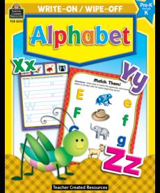 Alphabet Write On/Wipe Off Book