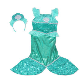 Melissa & Doug Mermaid Role Play Costume