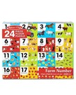 Melissa & Doug Farm Number Floor Puzzle
