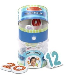 Melissa & Doug Tub Stickables Numbers