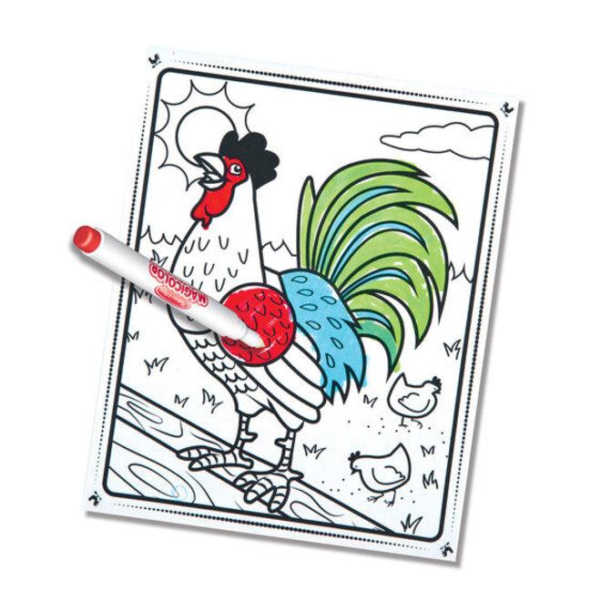 Magicolor Coloring Pad-Farm Animals