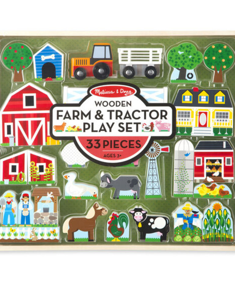 Farm and Tractor Set