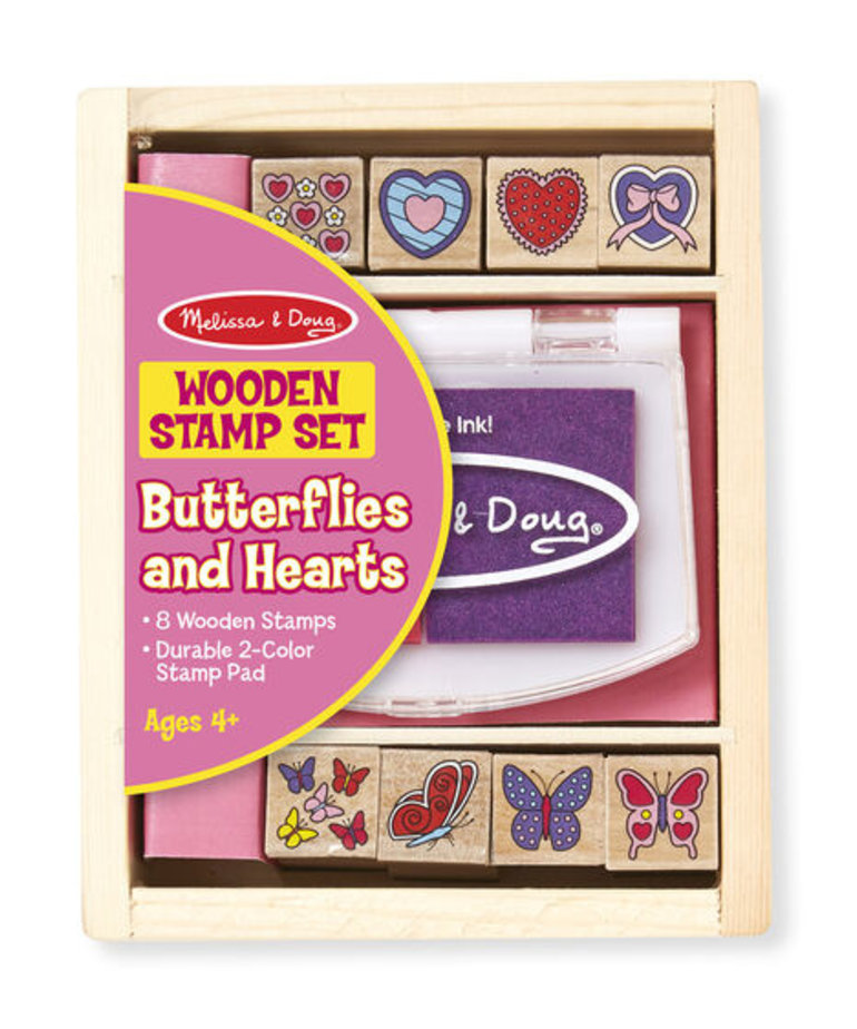 Butterfly and Heart Stamps