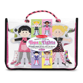 Tops and Tights Wooden Magnetic Dress Up Dolls