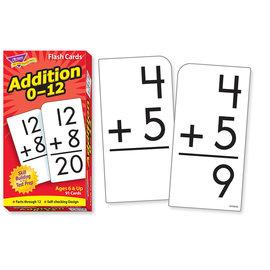 Addition 0-12 Flashcards