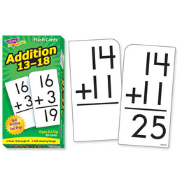 Addition 13-18 Flashcard