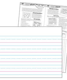 Handwriting Paper 17 x 22 Wipe Off