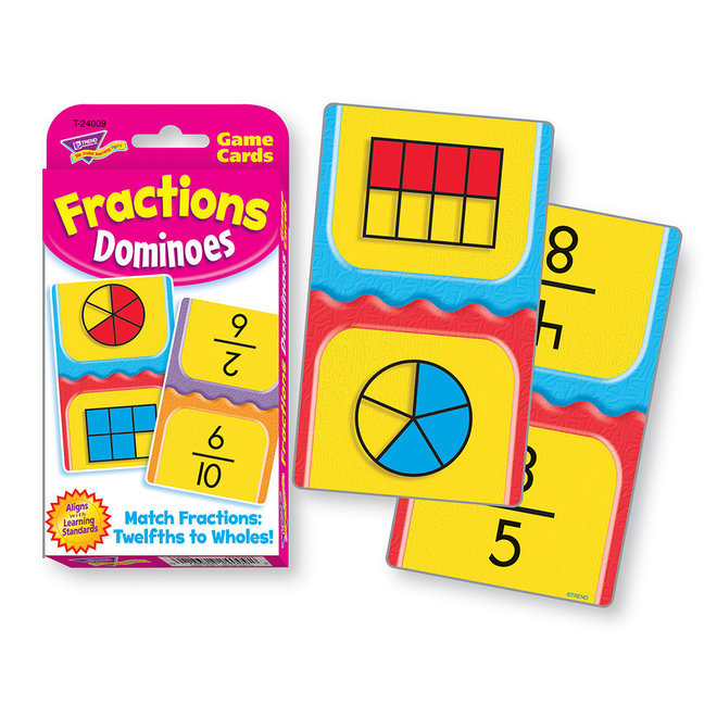 Fractions Dominoes