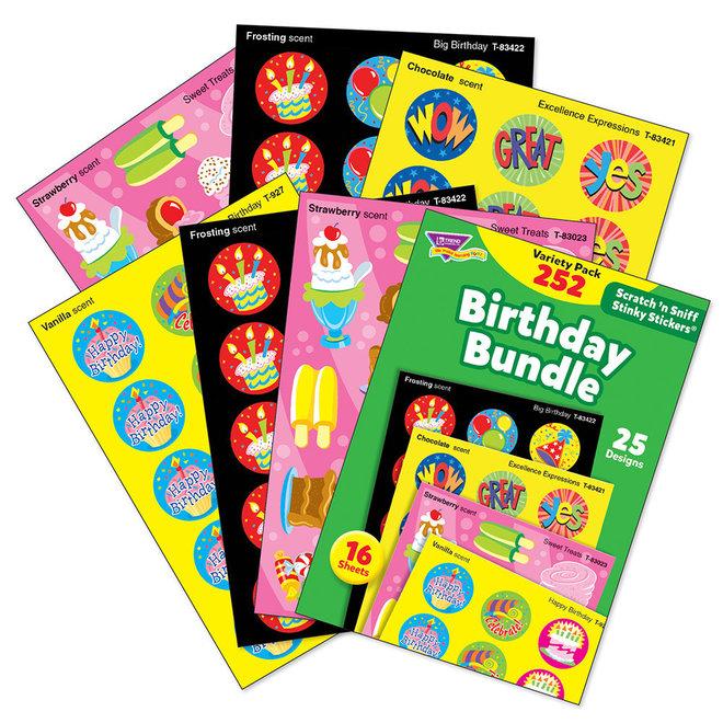 Birthday Bundle Scratch 'N' Sniff