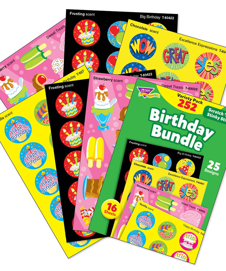 Birthday Bundle Scratch 'N' Sniff